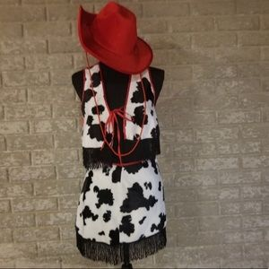 Fredericks of Hollywood Vintage Cowgirl Costume